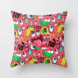 Gross Pattern Throw Pillow
