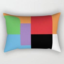 Frustration Rectangular Pillow