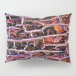 Bright Ruby tree Bark Pillow Sham