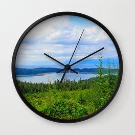 Chichagof Island Wall Clock