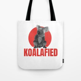 Highly Koalafied Ironworker design Funny product Tote Bag