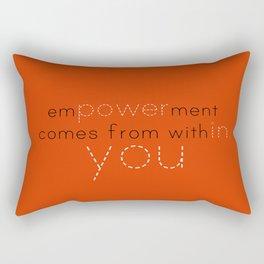 Empowerment statement  Rectangular Pillow