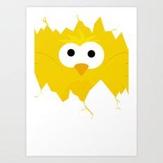 Minimal Chick Art Print