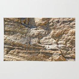Stunning sedimentary rock texture Rug
