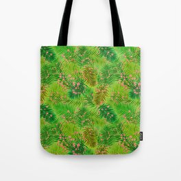 cherry in the forest Tote Bag