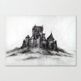 1989 - Spooky Castle Canvas Print