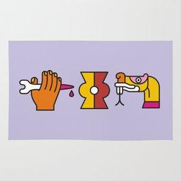 Aztec Glyphs ~4 Rug