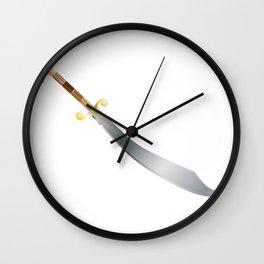 Scimitar Wall Clock