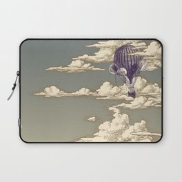 Go Ballooning! A Vintage Poster Recently! Laptop Sleeve