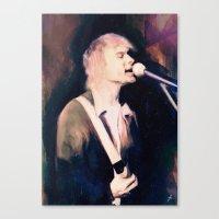 kurt rahn Canvas Prints featuring Kurt by Chad Lindall