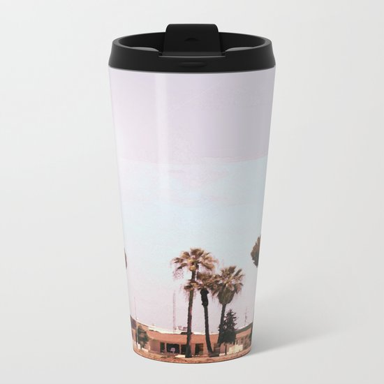 Across the Red Desert Metal Travel Mug