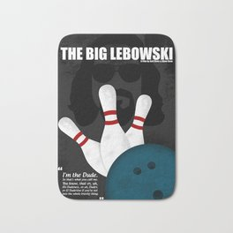 The Big Lebowski - Minimal Movie Poster. A Film by Joel Coen and Ethan Coen. Bath Mat