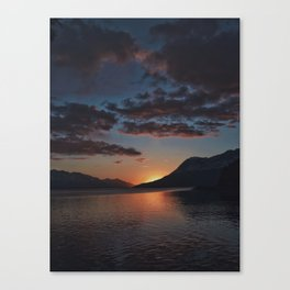Sunset Moments Canvas Print