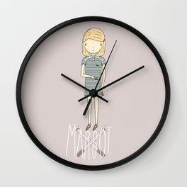 Margot T Wall Clock