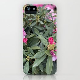 Bees Like Flowers iPhone Case
