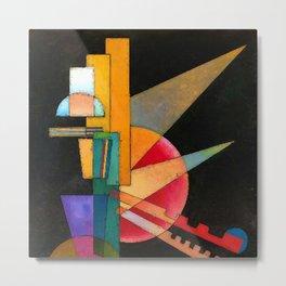 Wassily Kandinsky Abstract Interpretation Metal Print