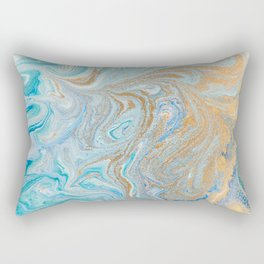 marble texture Rectangular Pillow
