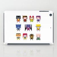 x men iPad Cases featuring Pixel X-Men by PixelPower