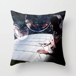 The Architecture of Raymond Throw Pillow