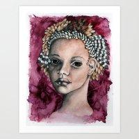 Finch Art Print