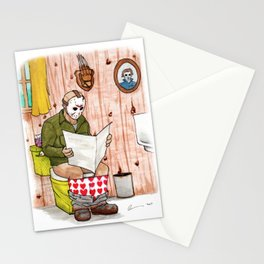 Saturday the 14th Stationery Cards