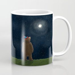 Starry Night Novembear Coffee Mug