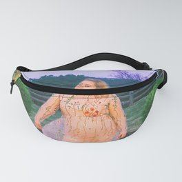Lady in a dress Fanny Pack