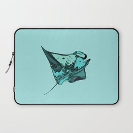 Manta Ray Manta birostris Laptop Sleeve