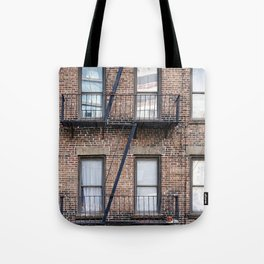 New York Fire Escape Tote Bag