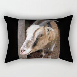 A Fuzzy Friend Rectangular Pillow