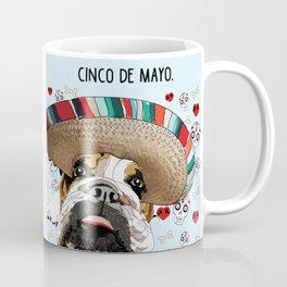 Cinco de Bulldog Coffee Mug