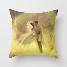 You Just Kissed Yourself a Princess Throw Pillow
