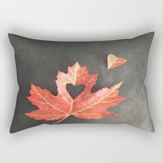 Autumn Love Rectangular Pillow