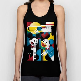 Mickey's Band Unisex Tank Top