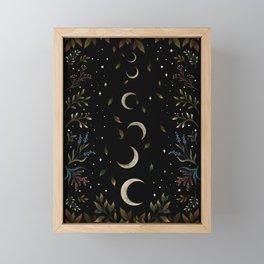 Crescent Moon Garden Framed Mini Art Print