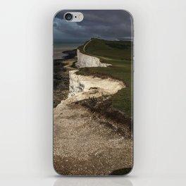 White cliffs of Beachy Head iPhone Skin