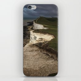 White cliffs of Beachy Head iPhone Skin