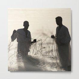 Nubian Fishermen Metal Print