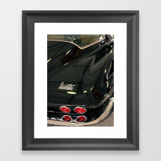 1967 Corvette Sting Ray Framed Art Print