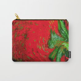Strawberry Fruit Art Deco Carry-All Pouch