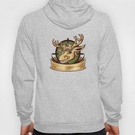 Cartoon Deer mascot  Hoody