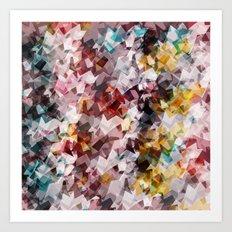 Magic gems Art Print