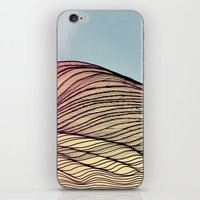 dune iPhone & iPod Skins featuring Sand Dune by Brontosaurus