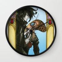 sandman Wall Clocks featuring Sandman: Dream by skritters