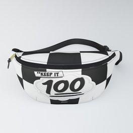 Keep it 100 Fanny Pack