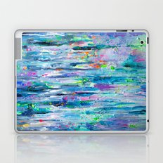 Silver Rain Laptop & iPad Skin