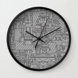 Bot City Wall Clock