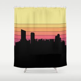 Grand Rapids Skyline Shower Curtain