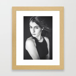 Lady Laura Framed Art Print