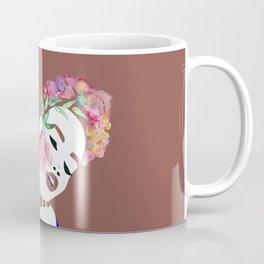 Flowered woman Coffee Mug